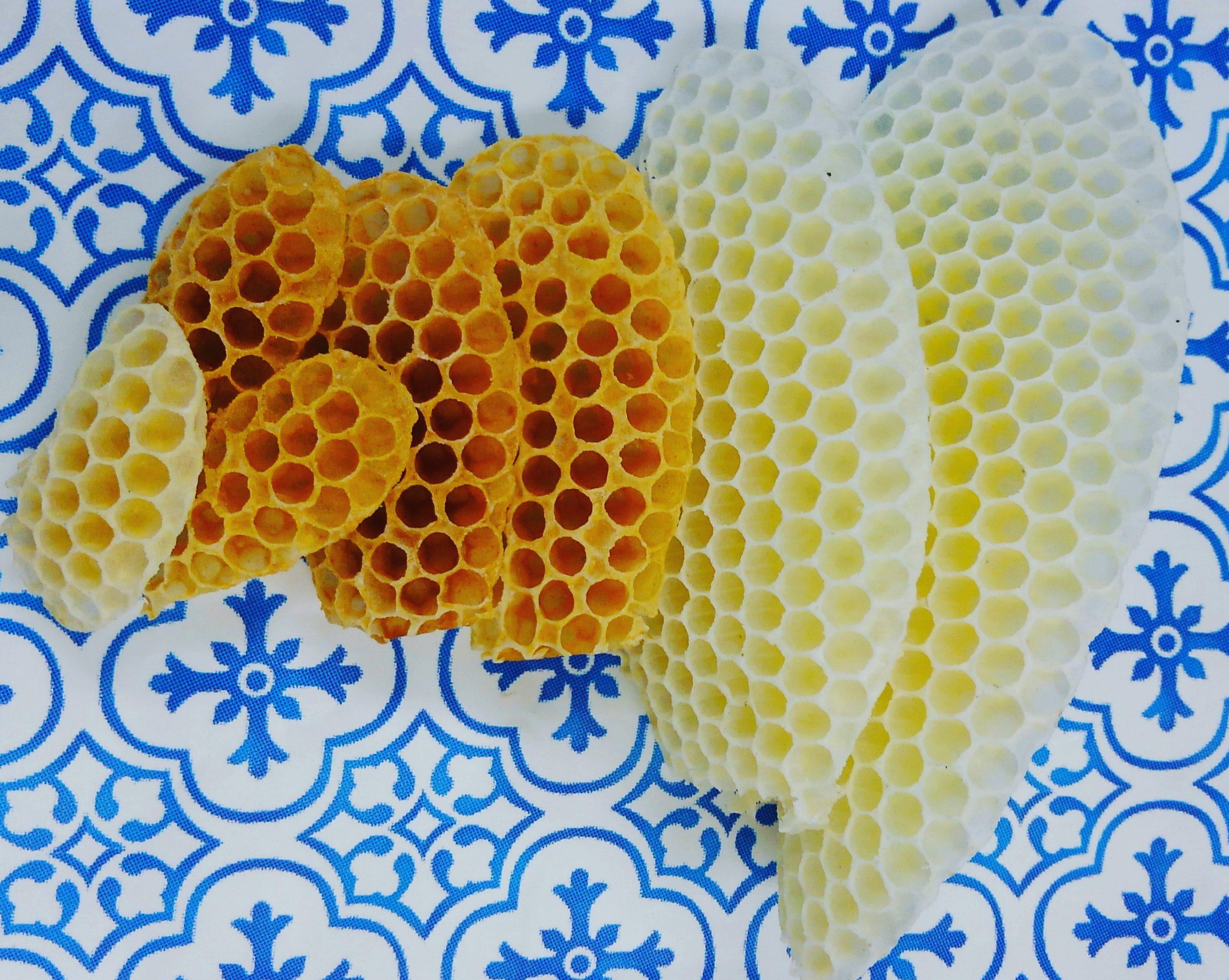 ミツロウって蜜蜂の口から出される物質じゃないの??